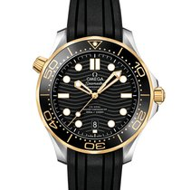 Omega Seamaster Diver 300 M Gold/Steel 42mm Black United States of America, New York, New York
