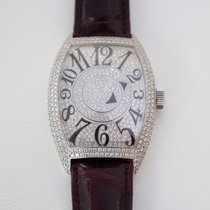 Franck Muller Double mystery White Gold Diamonds Watch