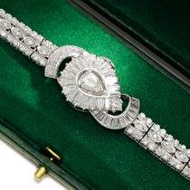 Cortina Diamond Flip-Top Watch Bracelet Incabloc