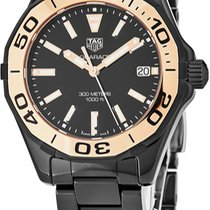 TAG Heuer Ceramic Quartz Black new Aquaracer Lady