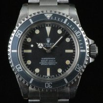 Rolex Submariner 5512  Automatic 1977 Super Dome Bezel Fat Font