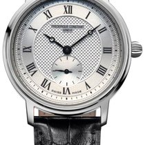 Frederique Constant Slimline Mid Size Steel 30.5mm Silver United States of America, New York, Brooklyn