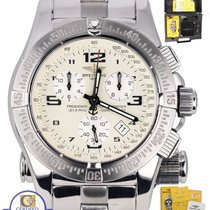 Breitling Emergency Mission Chronograph Stainless A73322 Cream...