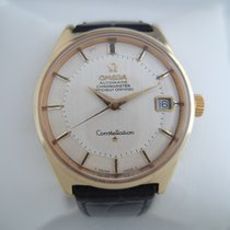 Omega Constellation Pie Pan rare unishell model cal 564 1969