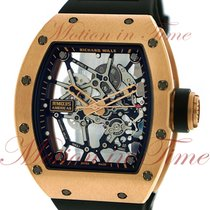 Richard Mille Rose gold Manual winding Transparent 48mm pre-owned RM 035