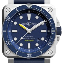 Bell & Ross BR03-92 Automatic 42mm BR0392-D-BU-ST/SRB