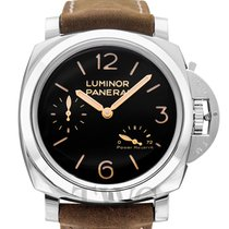 Panerai Luminor 1950 3 Days Power Reserve Steel 47mm Black