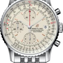 Breitling A13324121G1A1 Steel 2020 Navitimer Heritage 41mm new