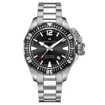 Hamilton 42mm Automatic new Khaki Navy Frogman Black