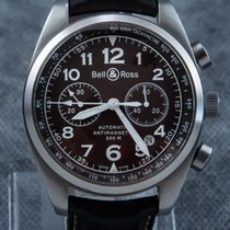 Bell & Ross Anti Magnetic Chronograph Automatic Chocolate Dial...
