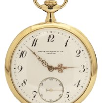 Patek Philippe Watch pre-owned 1908 Yellow gold 47mm Manual winding Watch only