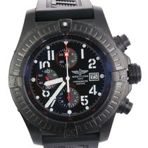 Breitling Super Avenger Steel 48mm Black Arabic numerals United States of America, New York, Smithtown