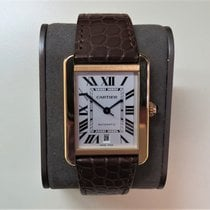 Cartier Tank Solo Rose gold 31mm Silver Roman numerals United States of America, Illinois, Chicago