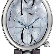 Breguet Reine de Naples Steel 35.5mm Mother of pearl Arabic numerals United States of America, Florida, Aventura