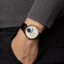 Montblanc Yellow gold Automatic Silver 40mm new Heritage Chronométrie