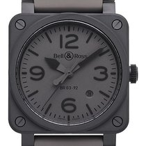 Bell & Ross BR 03-92 Ceramic new 2019 Automatic Watch with original box and original papers BR0392-COMMANDO-CE
