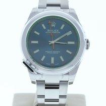 Rolex Milgauss 40mm Blau