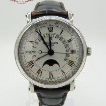 Patek Philippe Perpetual Calendar Platinum 36mm White Roman numerals United States of America, Texas, Houston