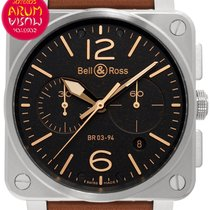 Bell & Ross Steel 42mm Automatic NBR03-94-S new