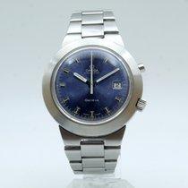 Omega Genève Steel 41,5mm Blue No numerals