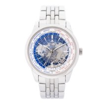 Jaeger-LeCoultre Geophysic Universal Time pre-owned 41.6mm GMT Steel