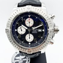 Breitling Super Avenger Acier 48mm Noir Arabes France, Paris