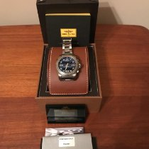 Breitling Cockpit B50 pre-owned 46mm Black Chronograph Date Perpetual calendar Alarm GMT Titanium