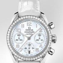 Omega Speedmaster Ladies Chronograph neu Stahl