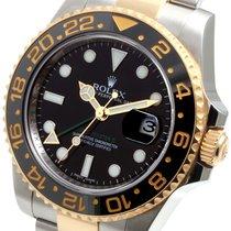 Rolex 18K/SS Ceramic GMT-Master ll - 116713 w/ warranty card