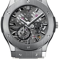 Hublot Classic Fusion Ultra-Thin Titanium 42mm Transparent United States of America, New York, Airmont