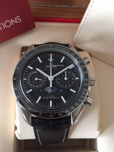 Omega Speedmaster Professional Moonwatch Moonphase 304.33.44.52.01.001 2021 neu