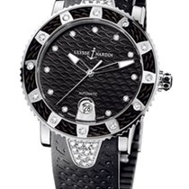 Ulysse Nardin Marine Diver Stainless Steel & Diamonds Ladies...