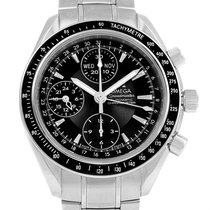 Omega Speedmaster Day-date 40 Chrono Mens Watch 3220.50.00 Box...