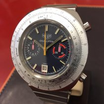 Heuer 110633 Calculator Chrono Marriage Carrera Vintage 45mm...