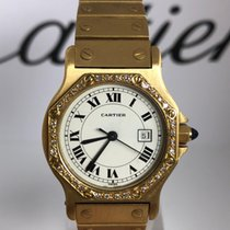 Cartier Yellow gold 31mm Automatic pre-owned