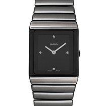 Rado Ceramica Diamonds Ceramic Quartz Ladies Watch R21702702