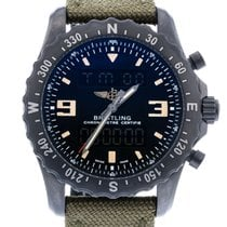 Breitling Chronospace Military M78366 Watch with Canvas...