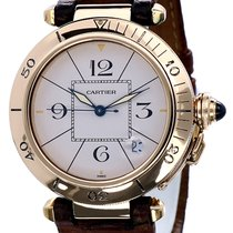 Cartier Pasha Yellow Gold Automatic Cream Dial 18 krt (38 mm)