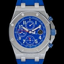 Audemars Piguet Royal Oak Offshore Chronograph Blue Steel/Leat...