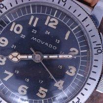 Movado 50s Vintage Weems Navigation Watch 36mm Case Radium...