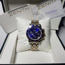 Zenith El Primero (Submodel) usados 40mm Acero y oro