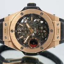 Hublot Big Bang pre-owned 45mm Tourbillon Crocodile skin