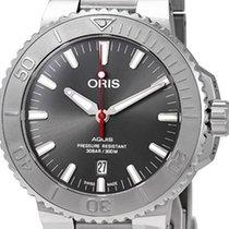 Oris Aquis Date 01 733 7730 4153-07 8 24 05PEB new