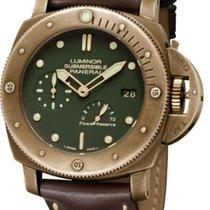 Panerai Bronze Automatic Green No numerals 47mm new Special Editions