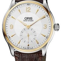 Oris Artelier Small Second Gold/Steel 40mm Silver United States of America, New York, Brooklyn