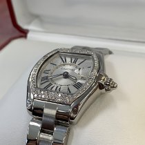Cartier Roadster Stål 31mm Romersk