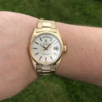 Rolex 1803 Yellow gold 1970 Day-Date 36 36mm pre-owned United Kingdom, Takeley
