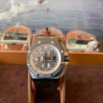 Audemars Piguet Royal Oak Offshore Chronograph Carbone 44mm Noir Sans chiffres France, Cannes