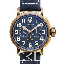 Zenith Pilot Type 20 Extra Special nuevo Automático Reloj con estuche y documentos originales 29.2430.4069/57.C808