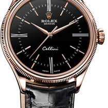 Rolex 50505 Rose gold Cellini Time 39mm pre-owned